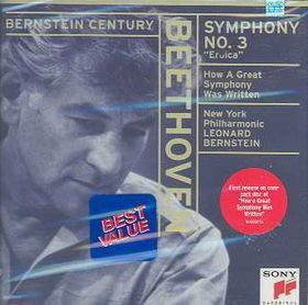 New York Philharmonic Orchestra - Symphony No.3 In E - Flast Major 'eroica' (CD)