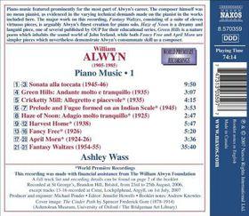 Alwyn, Piano Music Vol 1 - Piano Music - Vol.1 (CD)