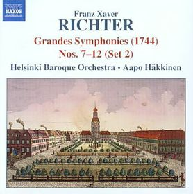 Richter: Grandes Symphonies - Helsinki Bo/hakkinen (CD)