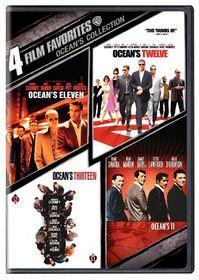 4 Film Favorites:Ocean's Collection - (Region 1 Import DVD)